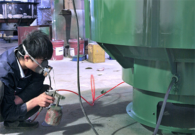 Grinding machine production